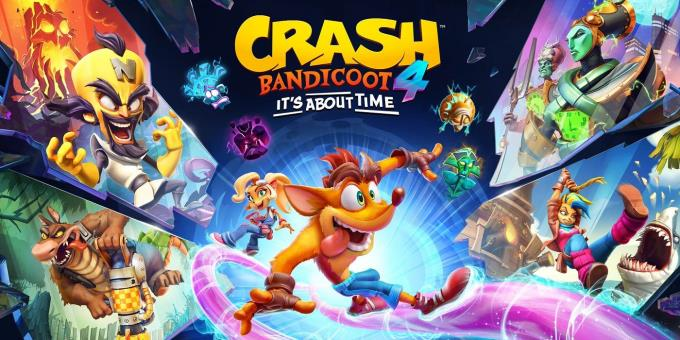 Crash Bandicoot 4 It's About Time Crack + Torrent Free Download